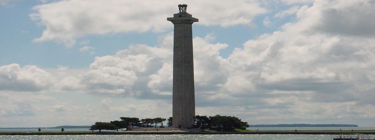 Perry Memorial - A picture of Perry's Monument on the island of Put in Bay, Ohio.