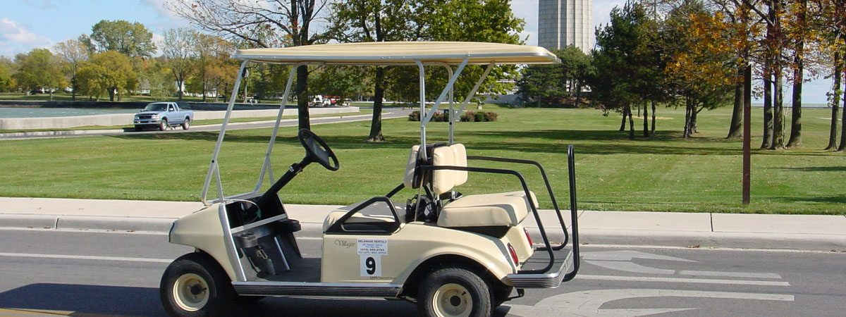 Put-in-Bay Transportation Golf Cart