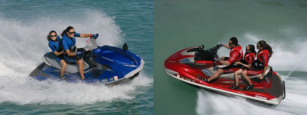how to put a jet ski in the water