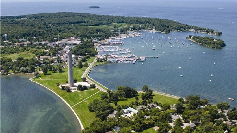Picture of Put-in-Bay on the Labor Day Bash