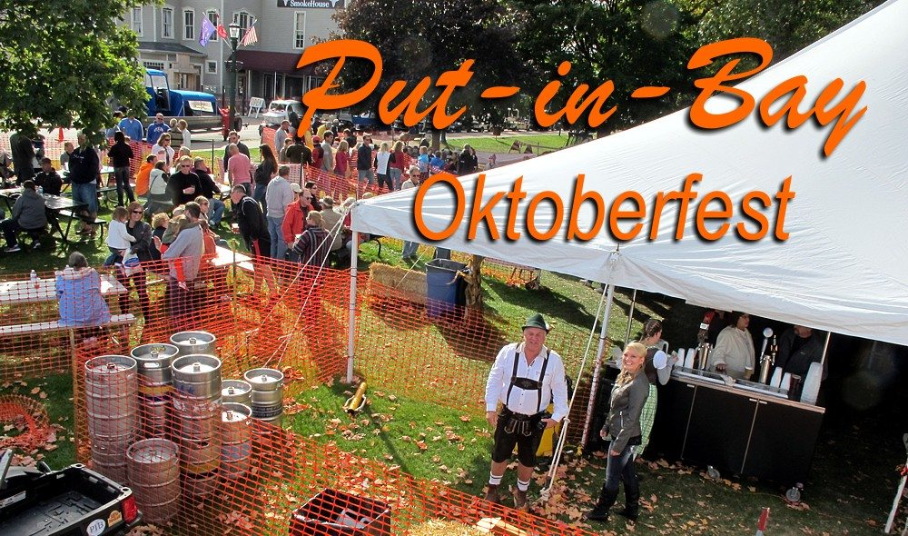 Picture of the Put-in-Bay Oktoberfest
