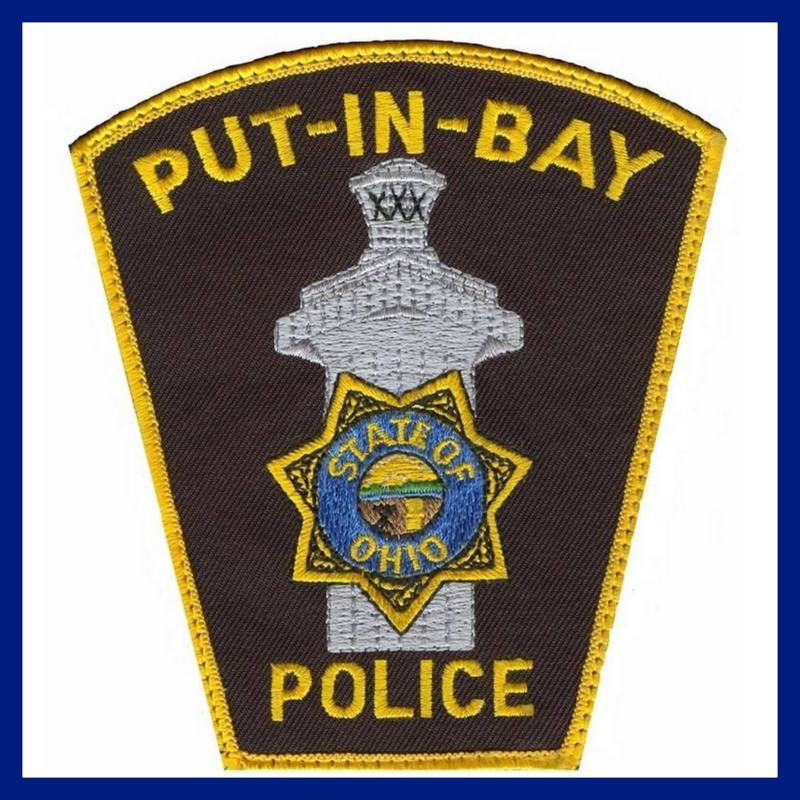 Put in Bay Police - Picture of a Put in Bay police patch.