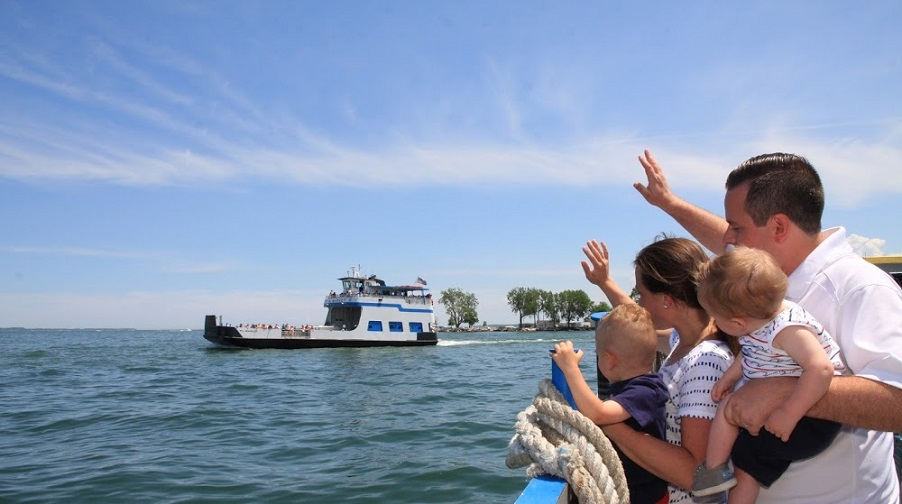 Picture Of The Miller Ferry Service