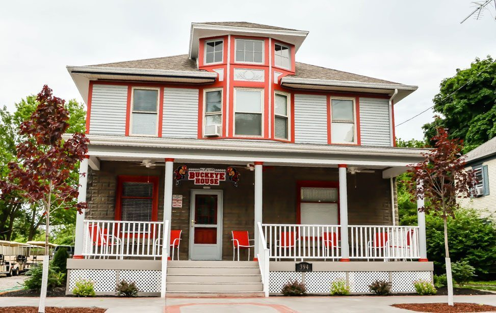 All Star Ohio House - A photo of a home rental on the Put-in-Bay, Ohio Island.