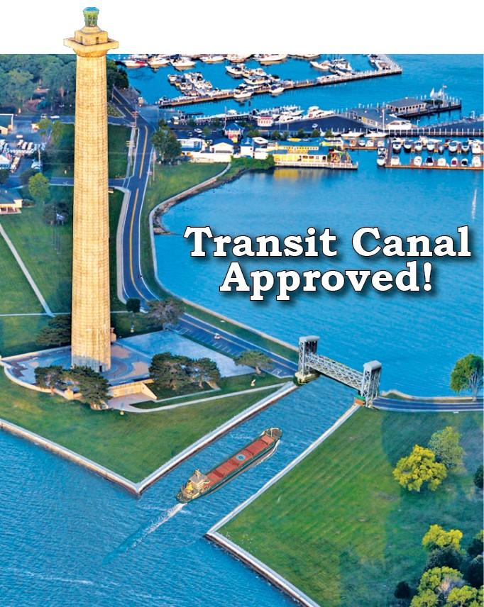 Photo of the Put-in-Bay Transit Canal.