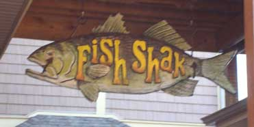 Fish Shack - Store front view of Fish Shack Put-in-Bay, Ohio island.